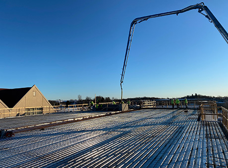 Concrete Contractor Green Bay WI Absolute Concrete Cottage Grove Hotel