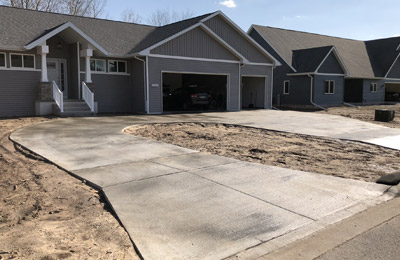 Concrete Contractor Green Bay WI Absolute Concrete Residential Flatwork Service