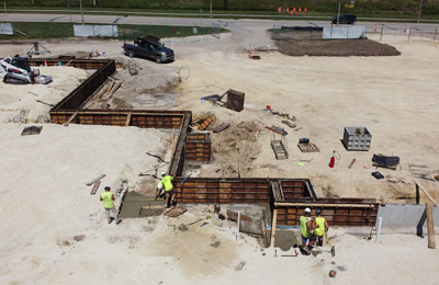 Concrete Contractor Green Bay WI Commercial Foundation Service